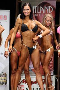 Veronika Guľášová<span>, úspešná reprezentantka v bikini fitness junioriek.</span>